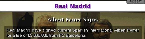 ferrer to R Madrid