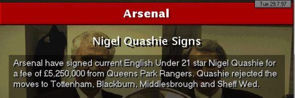 quashie to arsenal