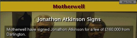 atkinson to motherwell