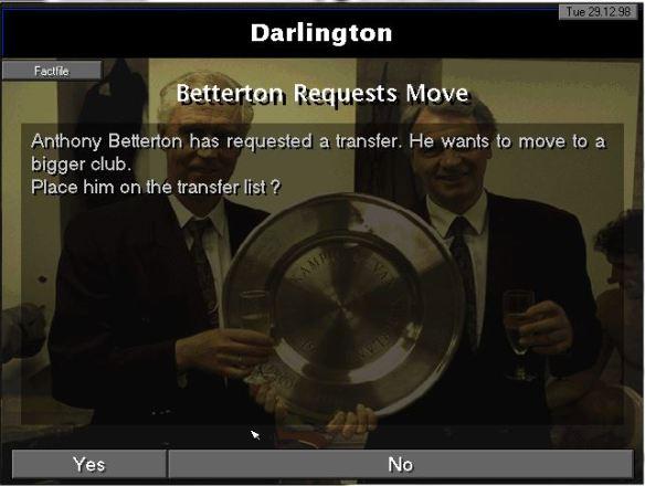 betterton transfer request