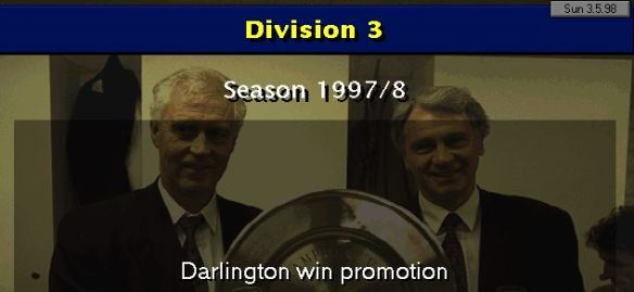 Darlo Promoted