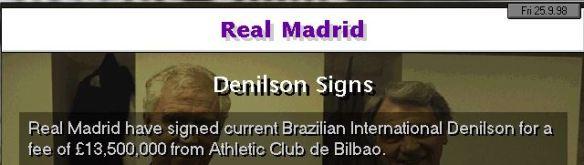 denilson to RM