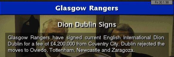 dublin to rangers