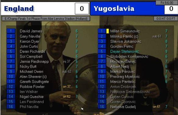 england 0 - 0 yugo
