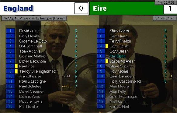 england 0 - 1 ireland