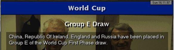 england 98 WC draw