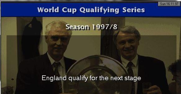 england qualify 98