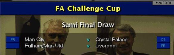 FA Cup SF Draw