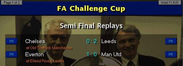 FA Cup SF replays
