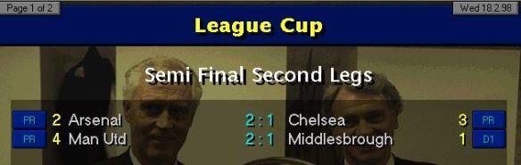 LC Semi Final Results