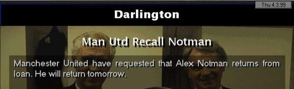 man utd recall notman