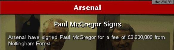 mcgregor to arsenal