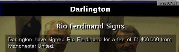 Rio to Darlo