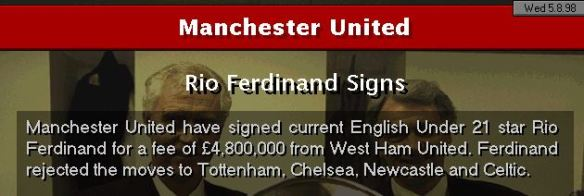 Rio to Man Utd