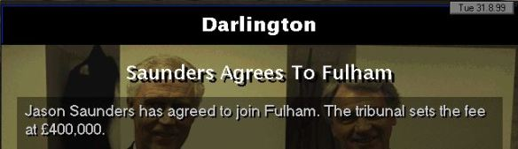 saunders picks fulhan