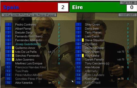 spain 2 - 0 ireland