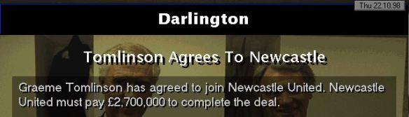 tomlinson to newcastle