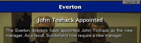toshack to everton