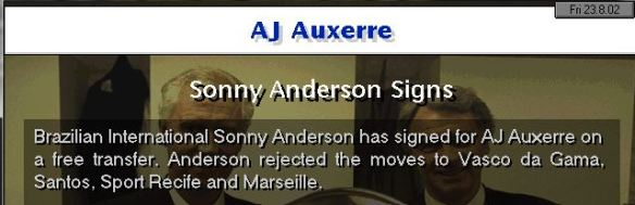 anderson to auxerre