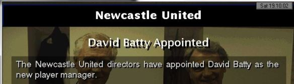batty newcastle manager