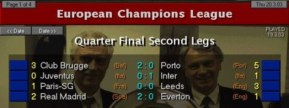 CL QF 03 results