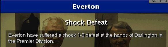 darlo 1 - 0 everton