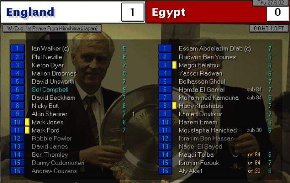 england 1 - 0 egypt