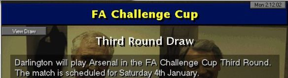 fa cup 3rd round tie