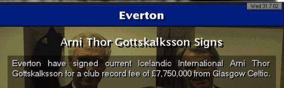 gottskalksson to everton