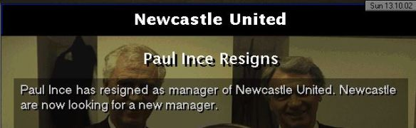 ince resigns