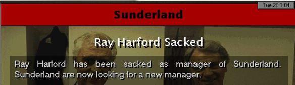 sunderland sacked harford