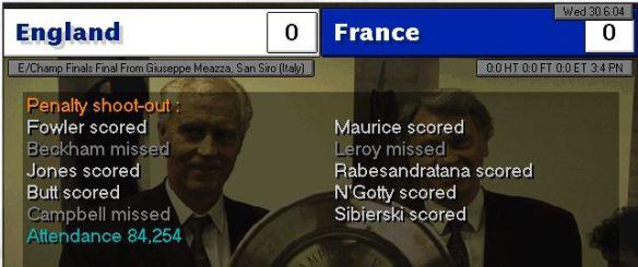 Euro 04 final