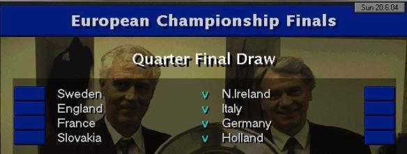 Euro 04 QF Draw