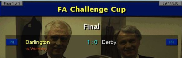 FA Cup 05 result