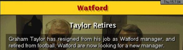 graham taylor retires