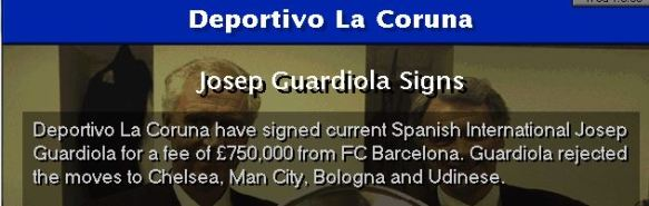 guardiola turns down city and chelsea