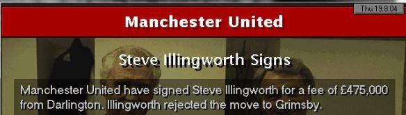 illingworth to man utd