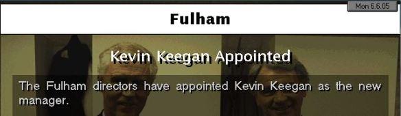 keegan to fulham
