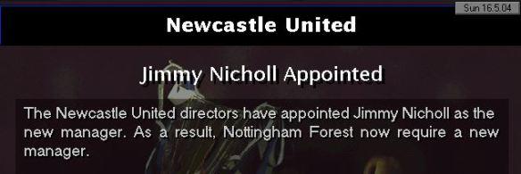 newcastle appoint nicholl