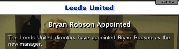 robson to leeds