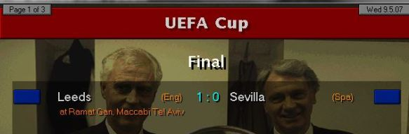 brian little wins uefa cup