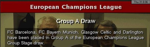 CL Draw of death