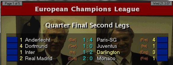 CL QF Results