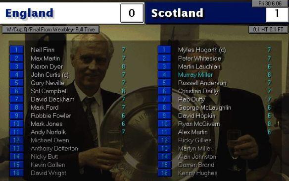 england 0 - 1 scotland