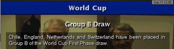 England WC group