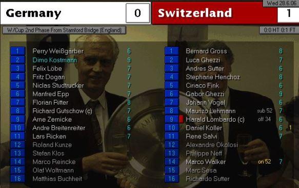 germany 0 - 1 swiss