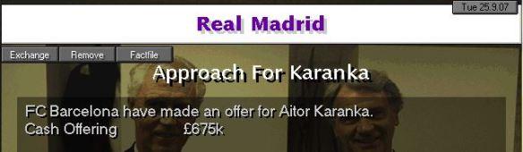 karanka to barcelona