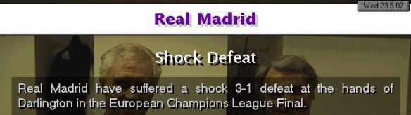 RM shock defeat