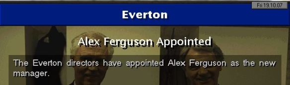 SAF to Everton