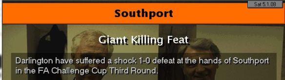 southport beat darlo